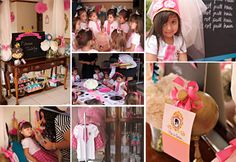 Princess Charm School--I pin all these girl parties like I might get to use them one day--not so much.