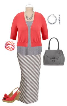"""""""plus size outfit"""" by penny-martin ❤ liked on Polyvore featuring Old Navy, CL by Chinese Laundry, Blue Nile and Anna Lou of London"""