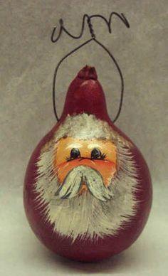 Painted+Gourd+Art | Via Mickey Quarles