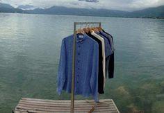 """La marque JagVi commercialise des vêtements pour homme en partie """"made in France"""". C'est notamment le cas des chemises en lin, idéales par grosses chaleurs."""