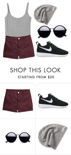 """1,000,00"" by hanooshi ❤ liked on Polyvore featuring NIKE and Converse"