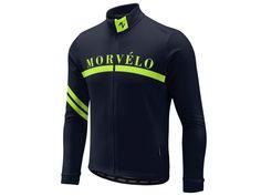 Morvelo House LS Navy Thermal Jersey - Kinoko Cycles