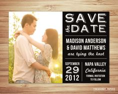 Vintage Love save the date