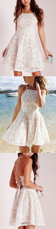 https://www.dresstells.com/glamorous-a-line-sweetheart-short-white-lace-homecoming-dress-with-crystal-lace.html glamorous evening dress, A-line prom dress, sweetheart party dress, short bridesmaid dress, knee-length homecoming dress, white homecoming dress, homecoming dress with crystal, 2016 homecoming dress, discount homecoming dress, dress for homecoming, cheap homecoming dress, #2016 #cheap #white #cheap