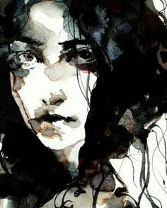 Watercolor portrait by Ko byung jun Abstract Portrait, Watercolor Portraits, Portrait Art, Watercolor Paintings, Watercolor Face, Abstract Watercolor, Figure Painting, Painting & Drawing, Art Sketches