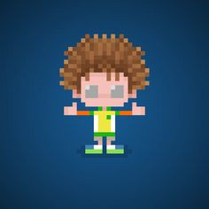 Famous Characters in Pixel Art Jonathan Locker from Hotel Transylvania 2…