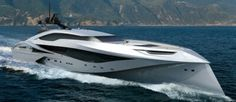 Newest designs in yachts
