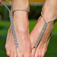 Franterd Women Chain Ankle Bracelet Matte Beads Barefoot Sandal Beach Foot Jewelry