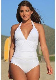 a888476d1c34 One Piece Swimsuits :: Honeymoon Halter 1-PC - Swimwear, Women's Swimsuits,