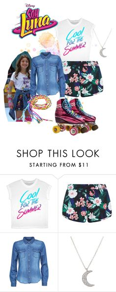 soy luna by maria-cmxiv on Polyvore featuring moda, New Look and Finn