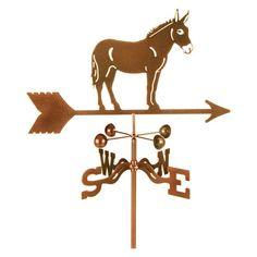 EZ Vane Mule Horse Weathervane - EZ1503-GR