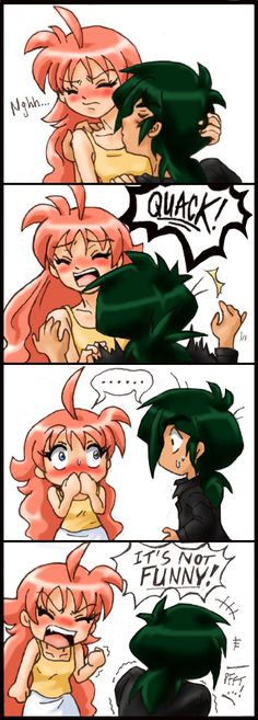 """Princess Tutu fanart - or little mini fancomic, rather. XD This features an older, post-series Fakir and Ahiru, and was inspired by a roleplay bit - plus it's kind of like a sequel to """"Bad Tim..."""