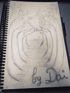 Boceto. Túnel. 30/05/2012. Cosas en papel que hago para relajarme