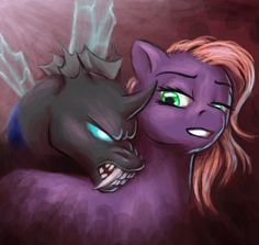 MLP - I'm not afraid by merrypaws on DeviantArt