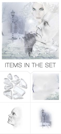 """Snow Queen"" by capricat ❤ liked on Polyvore featuring art"