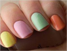 4 nails fashion week 2012