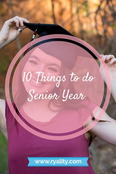 "10 Things to do Senior Year Senior year is a roller coaster. It is one of the best times of your life, but it can also be really stressful. Finding ways to enjoy yourself throughout all of the up and downs, ""first lasts"", and all of the bittersweet moment Senior Year Of High School, High School Years, In High School, High School Seniors, Grants For College, Financial Aid For College, Scholarships For College, College Guide, High School Bucket List"