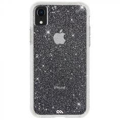 iPhone Xr Clear Sheer Crystal Case Back Cute Cases, Cute Phone Cases, Iphone Phone Cases, New Iphone, Iphone 8 Plus, Apple Iphone, Sparkly Phone Cases, Iphone Deals, Phone Covers
