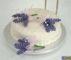 ... Lavender Wedding Cake Flowers Lavender Decor, Lavender Cake, Lavender Flowers, Country Style Wedding, Rustic Wedding, Wedding Cakes With Flowers, Cake Flowers, Let Them Eat Cake, Wedding Inspiration