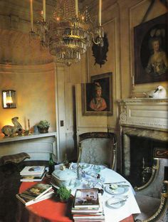 London Drawing Room of Mrs. Bruce. Interior Design Nancy Lancaster and John Fowler