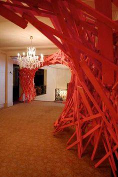 Rebirth by Arne Quinze Installation Art, Design Art, Design Concepts, Education Architecture, A Level Art, Sculpture Art, Sculptures, Scenic Design, Dezeen