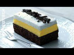 Prajitura Inghetata Falsa cu crema de vanilie | Adygio Kitchen - YouTube No Cook Desserts, Something Sweet, Cheesecake, Deserts, Good Food, Cooking, Recipes, Youtube, Pies