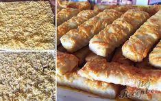 Bleskové sýrové tyčinky z lahodného smetanového těsta, které máte hotové do půl hodinky. Hodí se k večernímu filmu, pro dobrou návštěvu nebo na oslavu narozenin jako fantastická chuťovka. Autor: Mineralka Food And Drink, Pizza, Bread, Recipes, New Years Eve, Essen, Brot, Baking