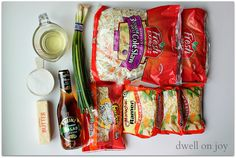 Dwell on Joy: Asian Ramen Salad