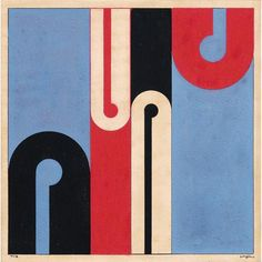 Formas diferenciadas Artist: Ivan Serpa Completion Date: 1956 Style: Concretism Genre: abstract