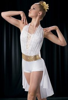 NEW FIGURE ICE SKATING BATON TWIRLING DRESS COSTUME BALLROOM DANCE COMPETITION #Unbranded