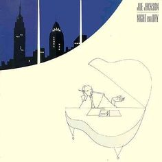Joe Jackson, Night and Day album cover. Simple and beautiful...
