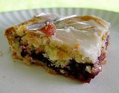 Fruit Pie Squares. Morning danish? After-dinner dessert?  Does it matter????