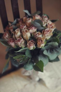 Antique Rose Bouquet..