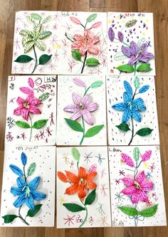 Image gallery – Page 854065516812077173 – Artofit Spring Art Projects, Spring Crafts For Kids, Art For Kids, Flower Crafts, Flower Art, Primary School Art, Preschool Arts And Crafts, Messy Art, Art N Craft