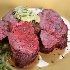 Ina Garten& Slow-Roasted Filet of Beef with Basil Parmesan Mayonnaise.Tangy and refreshing, this basil Parmesan mayonnaise is also a delightful topping for chicken, fish, or grilled bread.the chew The Chew Recipes, Meat Recipes, Dinner Recipes, Cooking Recipes, Game Recipes, Wing Recipes, Cooking Tips, Dinner Ideas, Food Network Recipes