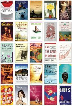 100 Books You Can't Put Down - I've only read 21 of these... I should get a start on the other 79!