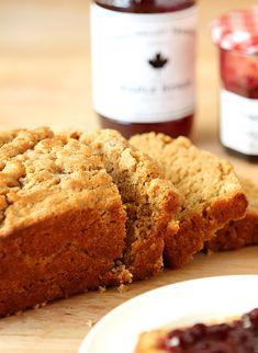 Honey Maple Dark Beer Bread // Creative-Culinary.com