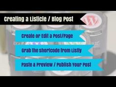 WordPress › Listly: for bloggers, brands & journalists who crave reader contribution & growth « WordPress Plugins