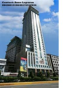 Crown Regency in Cebu City  2 Bedrooms unit for rent  fully furnished  40k/month negotiable   Call Ann 4163742 09438013196 / 09172517834  email agent.flenland@gmail.com
