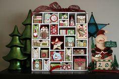 {this & that}: Silhouette Advent Calendar