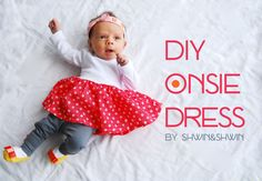 I have been sewing for my littlest one lately, she needs the most clothing, so I thought to make a few. My favorite is a little dress. I recently bought some from the gap that was a onsie underneath a dress, which is perfect so the babies little bellies aren't ever exposed. I have seen …