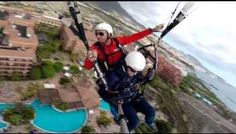 Flying in Tenerife