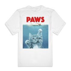 Paws Jaws Men's Tee from Beloved Shirts
