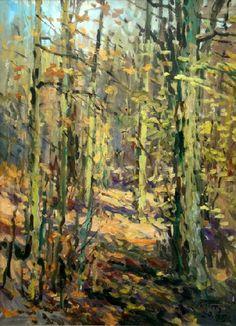 Rudens mežā, Edgars Vinters (1919-2014, Latvia)