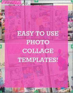 Repinned: Document your instagram photos with these fun + easy to use photo collage templates.