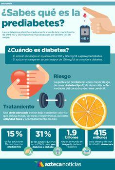¿Sabes qué es la prediabetes? #infografia