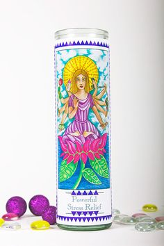 Powerful Stress Relief Prayer Candle