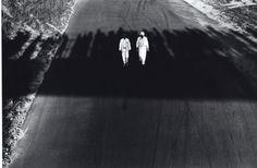 Overpass Shadows, Connecticut Race Track, 1967