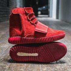 red october yeezy 350