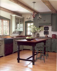 90 Rustic Kitchen Cabinets Farmhouse Style Ideas (81)